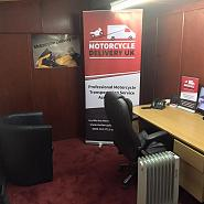 Motorcycle Delivery UK office