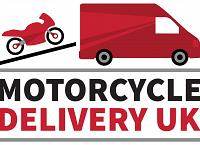 Motorcycle delivery and collection company logo